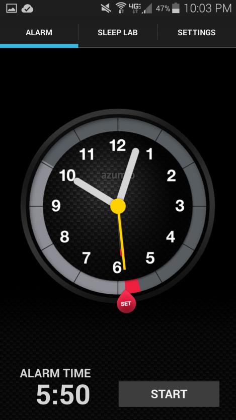 Sleep Time Alarm