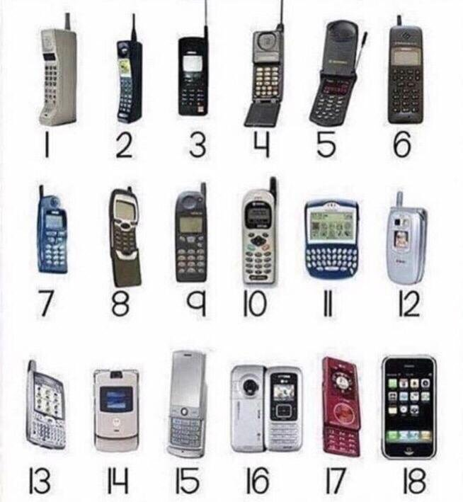 170818 Mobile Phone Evolution